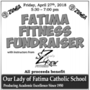 Fatima Fitness Fundraiser, Friday, April 27